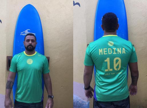 Projeto Ondas presenteará doadores com camisetas oficiais da WSL