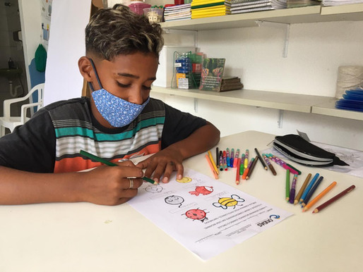 Projeto Ondas realiza campanha de arrecadação para volta às aulas