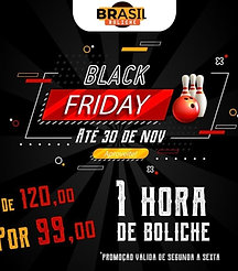 Black Friday 1 Hora de Boliche