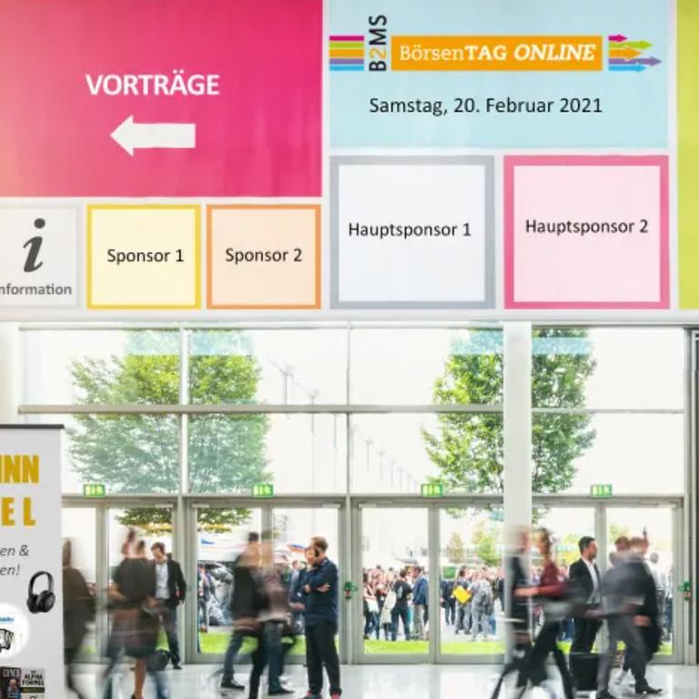 Börsentag Online - Die ONLINE-Messe für Privatanleger