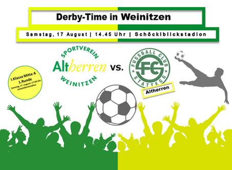 Derby-Time im Schöcklblickstadion