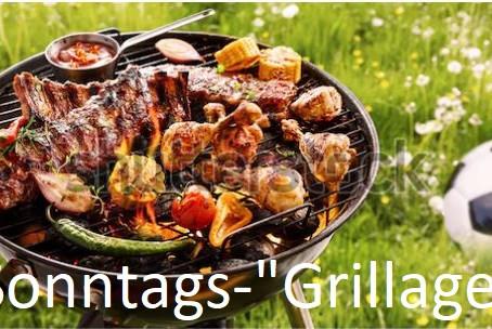 """Sonntags-""""Grillage"""" und Kickerl"""