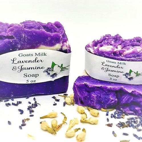 Lavender & Jasmine (Goat Milk) Soap