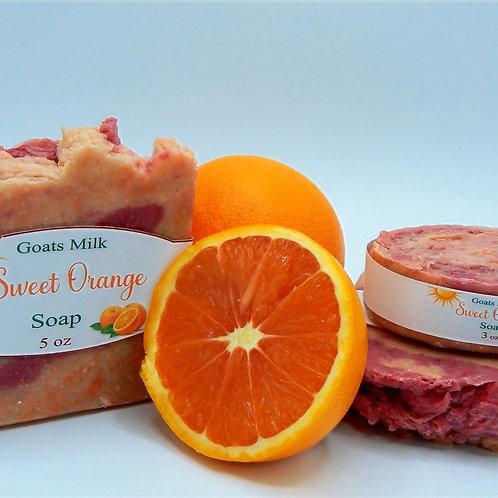 Sweet Orange (Goat Milk) Soap