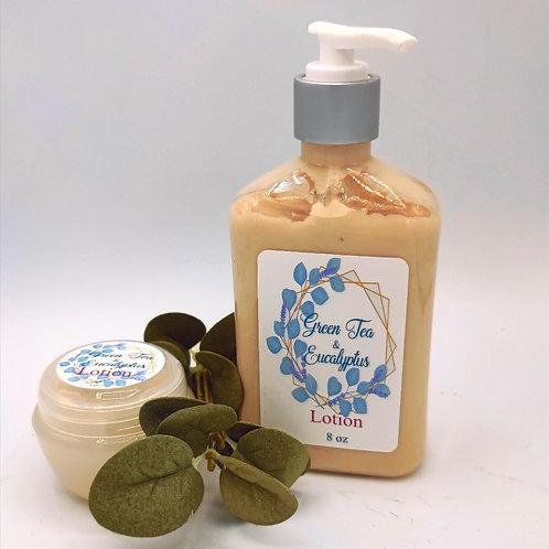 GreenTea & Eucalyptus Hand and Body Lotion