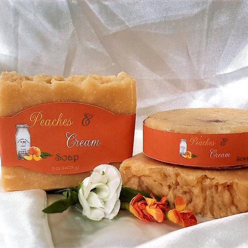 Peaches & Cream Goat Milk Soap