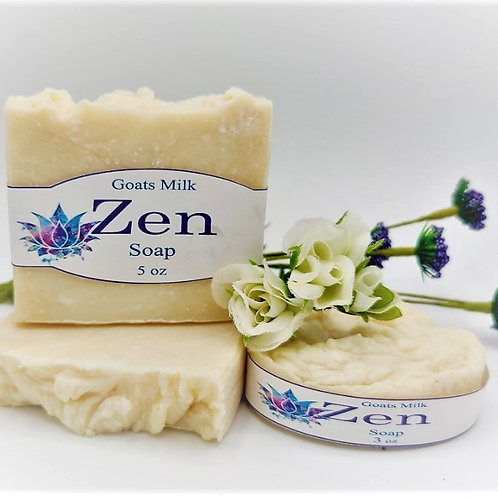 Zen (Goat Milk) Bar Soap