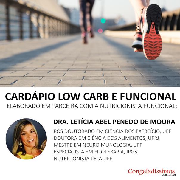 Congeladíssimos Funcionais e Low Carb