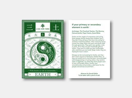 Fengshui Earth Postcard
