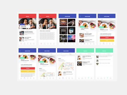 HavTreats Mobile App UI Redesign