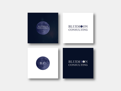 Bluemoon Logo Ideation