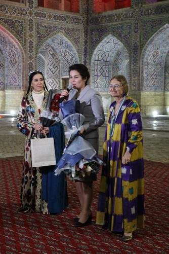 Voyage pour le jubilé des 30 ans de l'association Timuride Tashkent-Samarkand-Boukhara-Ferghana