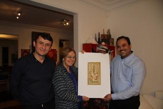 A la rencontre d'un grand miniaturiste de Boukhara