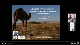 Conférence video: Julio Sarmiento, Turkménistan,  Ulug Depe 5000 ans d'histoire