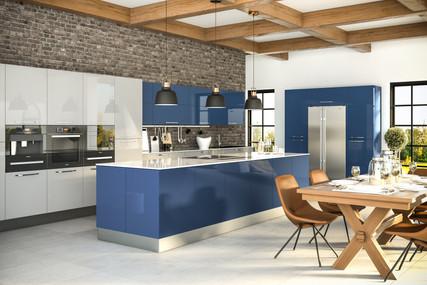 Ultragloss Baltic Blue Ultragloss Light Grey Kitchen.jpg