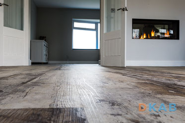 Designer LVT flooring throughout ground floor