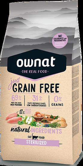 Grain free Sterilized  chat 3kg