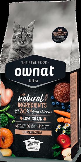 Low Grain chat Chicken & Rice 1.5kg