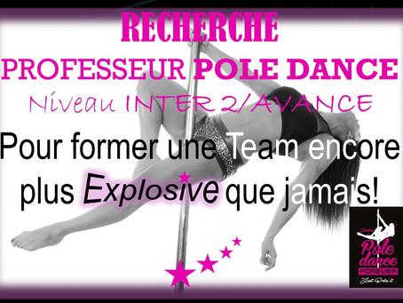 RECHERCHE PROF POLE DANCE