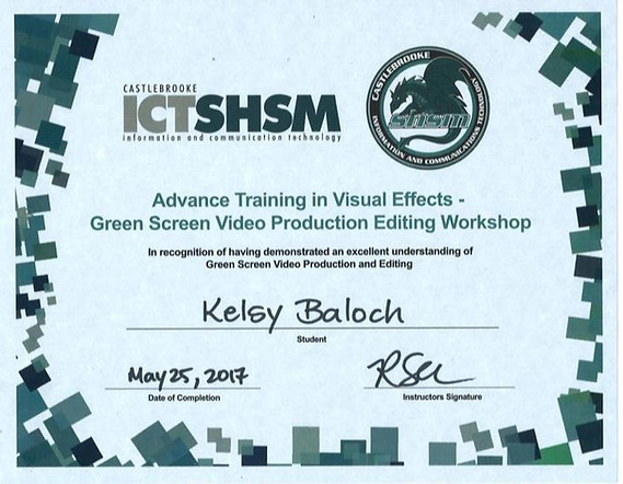 ADVANCED TRAINING IN VISUAL EFFECTS