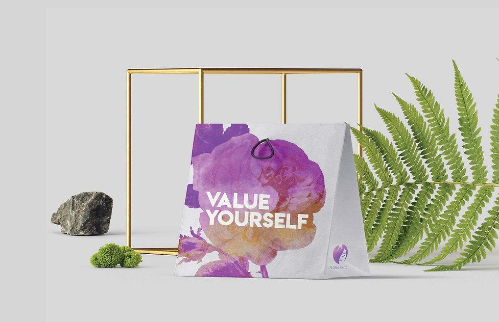 Flora Face-Value Yourself Shopping Bag_P