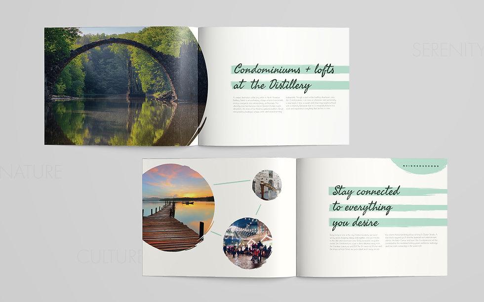 Letter Landscape Brochure Mockup - zen s