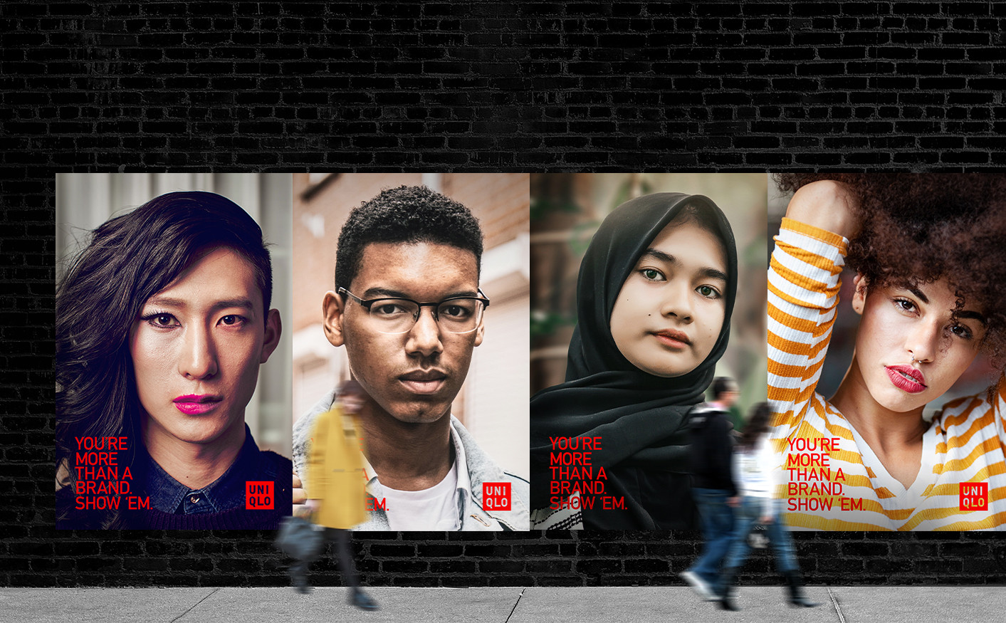 Uniqlo Beyond the Label Campaign | Retail