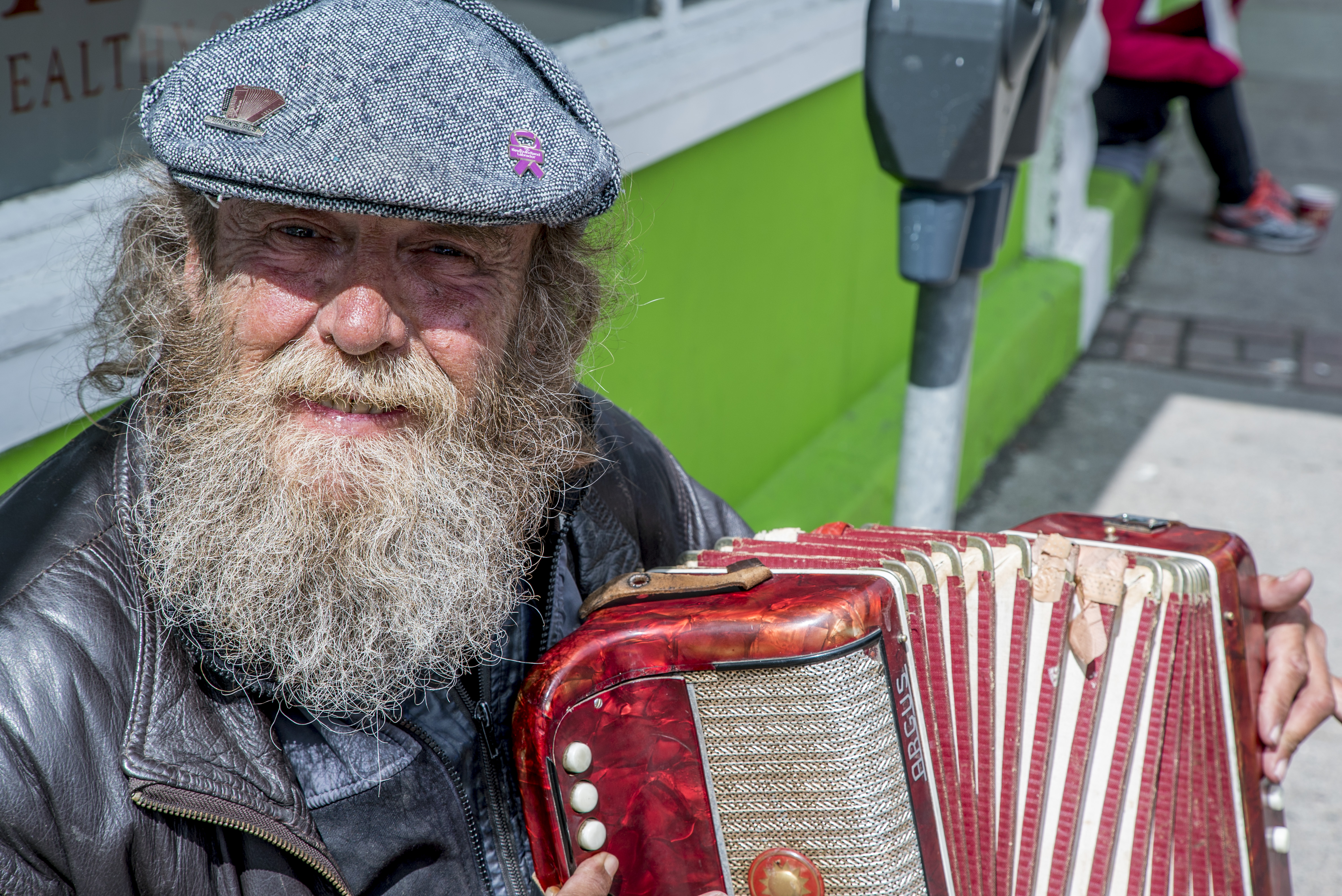 St. John's Man Plays Accordion