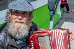 St. John's Man Plays Accordion
