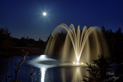 Mount Pearl Powers Pond Fountain
