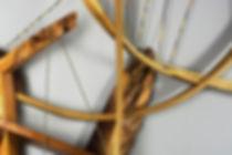 Odysseus No 6 Detail, Wood, Handmade Str