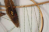Odysseus No 8 Detail, Wood, Handmade Str