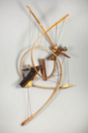 Odysseus No 5, Wood, Handmade String, Oi