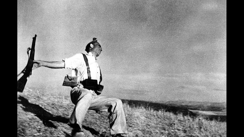 Muerte de un miliciano por Robert Capa