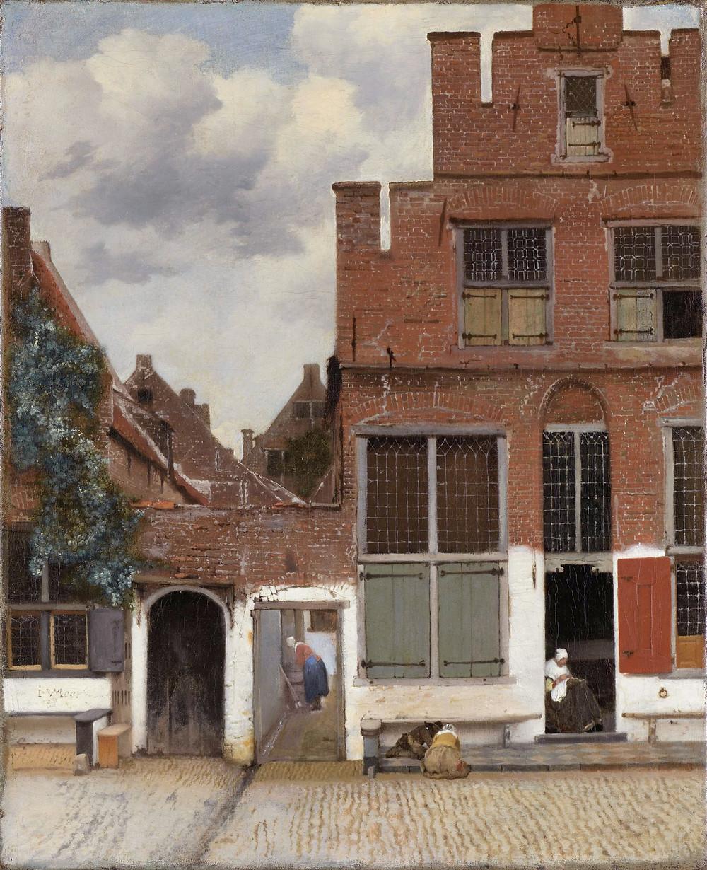"""Vermeer """"La callejuela"""""""