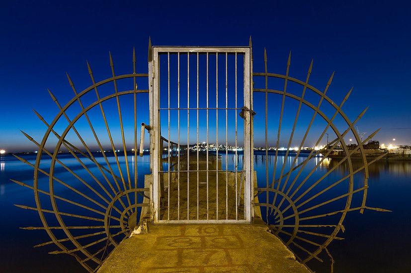 Puerta del muelle