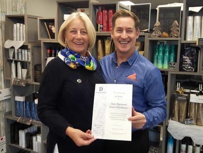 State Registered Hairdresser Certificate