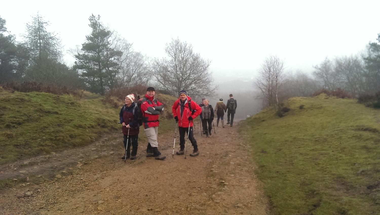 The Wrekin,half way up