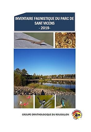Inventaire faunistique du Parc de Sant V