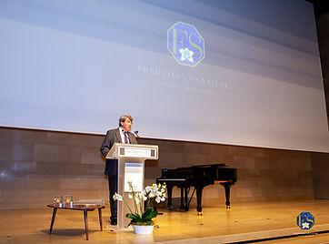 Le chancelier de l'Institut de France Xavier Darcos. © Philippe Provoly