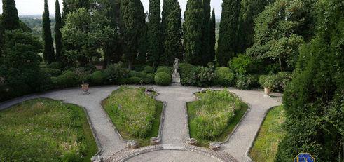 Jardin de l'Abbaye de Saint-André. Photo Olivier Ricomini