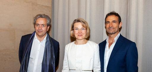 XXXXXX, Natalia Logvinova Smalto et Thomas Kouros Vidal. © Philippe Provoly