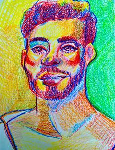 Crayon Portrait 2