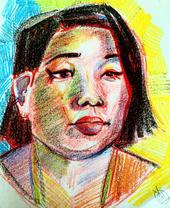 Crayon Portrait 1