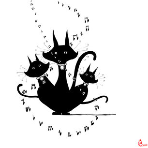Singing Kitties