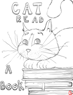 Cat Reads