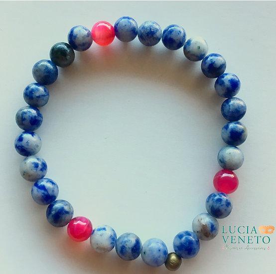 Bracelet Lapislazuli - Agate