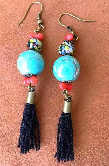 Boucles d'oreilles Boho Gypsy