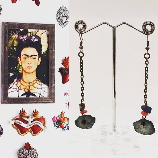 Boucles d'oreilles Oaxaca  - Collection Frida Kahlo