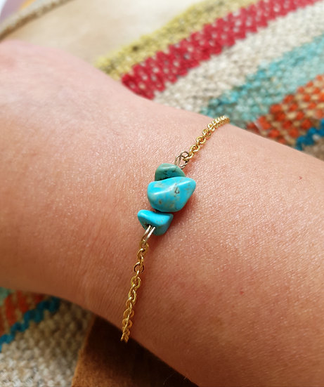 Bracelet Turquoise  -  Collection Sioux